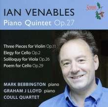 Ian Venables (geb. 1955): Klavierquintett op.27, CD