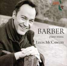 Samuel Barber (1910-1981): Klavierwerke, CD