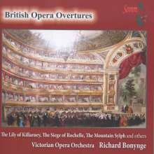 British Opera Ouvertures, CD