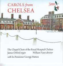 Chapel Choir of the Royal Hospital Chelsea - Carols from Chelsea, CD