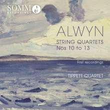 William Alwyn (1905-1985): Streichquartette Nr.10-13, CD