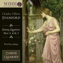 Charles Villiers Stanford (1852-1924): Streichquartette Nr.3,4,7, CD