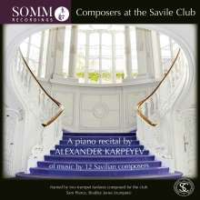 Alexander Karpeyev - Composers at the Savile Club, CD