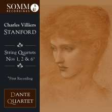 Charles Villiers Stanford (1852-1924): Streichquartette Nr.1,2,6, CD