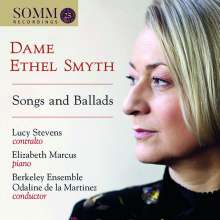 Ethel Smyth (1858-1944): Songs and Ballads, CD