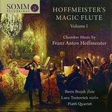 Franz Anton Hoffmeister (1754-1812): Kammermusik für Flöte Vol.1, CD