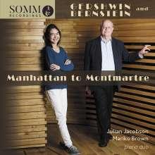 """Leonard Bernstein (1918-1990): Symphonische Tänze aus """"West Side Story"""" für 2 Klaviere, CD"""
