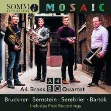 A4 Brass Quartet – Mosaic, CD