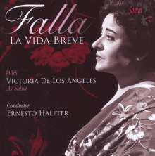 Manuel de Falla (1876-1946): La Vida Breve, CD
