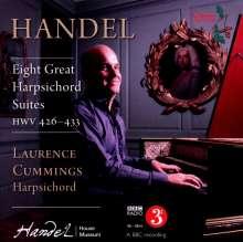 Georg Friedrich Händel (1685-1759): Cembalosuiten (1720) Nr.1-8 (HWV 426-433), 2 CDs