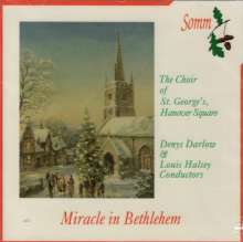 St. George's Hanover Square Choir - Miracel in Bethlehem, CD