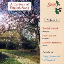 A Century of English Songs Vol.2, CD