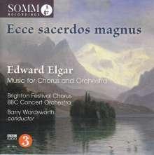 Edward Elgar (1857-1934): Werke für Chor & Orchester, CD