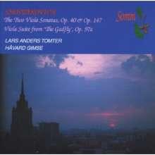 Dmitri Schostakowitsch (1906-1975): Sonate für Viola & Klavier op.147, CD