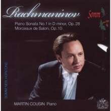 Sergej Rachmaninoff (1873-1943): Klaviersonate Nr.1 op.28, CD