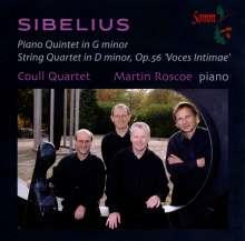 Jean Sibelius (1865-1957): Klavierquintett g-moll, CD