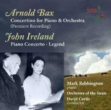 Arnold Bax (1883-1953): Concertino für Klavier & Orchester, CD