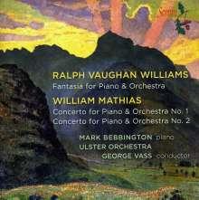 William Mathias (1934-1992): Klavierkonzerte Nr.1 & 2, CD