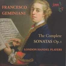 Francesco Geminiani (1687-1762): Sämtliche Sonaten op.1, 2 CDs