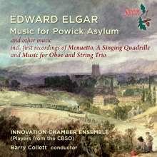"""Edward Elgar (1857-1934): Kammermusik & Tänze """"Music for Powick Asylum"""", CD"""
