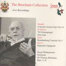 Thomas Beecham - The Beecham Collection, CD