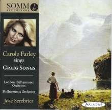 Carole Farley sings Grieg Songs, CD