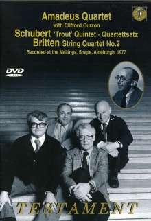Amadeus Quartett mit Clifford Curzon, DVD
