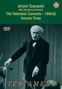 Arturo Toscanini - The Television Concerts 1948-52 Vol.3, DVD