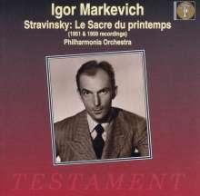 Igor Markevitch dirigiert, CD