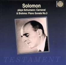 Solomon spielt Schumann,Brahms,Liszt, CD
