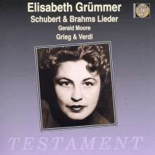 Elisabeth Grümmer singt Lieder & Arien, CD