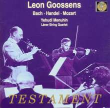 Leon Goossens spielt Oboenkonzerte, CD