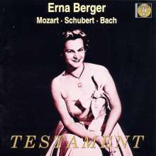 Erna Berger singt Mozart,Schubert,Bach, CD