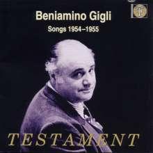 Benjamino Gigli - Songs 1954/55, CD