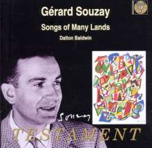 Gerard Souzay - Songs of Many Lands, CD