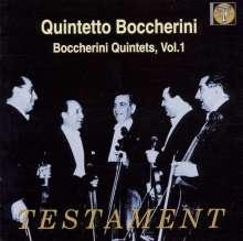 Luigi Boccherini (1743-1805): Streichquintette Vol.1, CD