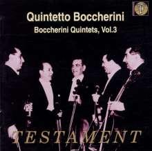 Luigi Boccherini (1743-1805): Streichquintette Vol.3, CD