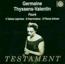 Gabriel Faure (1845-1924): 8 Pieces breves op.84, CD