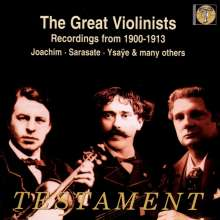 The Great Violinists - Recordings from 1900-1913, 2 CDs