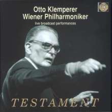 Otto Klemperer & das Wiener Philharmoniker - Live Broadcast Performances, 8 CDs