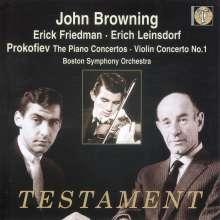 Serge Prokofieff (1891-1953): Klavierkonzerte Nr.1-5, 2 CDs