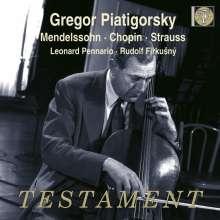 Gregor Piatigorsky, Cello, CD