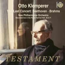 Otto Klemperer - The Last Concert, 2 CDs