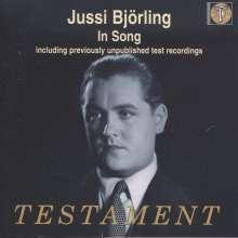 Jussi Björling  - In Song, CD
