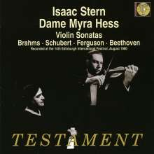 Isaac Stern & Dame Myra Hess, CD