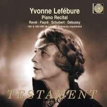 Yvonne Lefebure - Piano Recital, CD