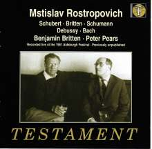 Mstislav Rostropovich,Cello, 2 CDs