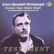 Arturo Benedetti Michelangeli - EMI Live Record., 2 CDs