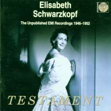 Elisabeth Schwarzkopf -  Unpublished EMI Recordings, 2 CDs
