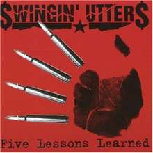 The Swingin' Utters: Five Lessons Learned, CD